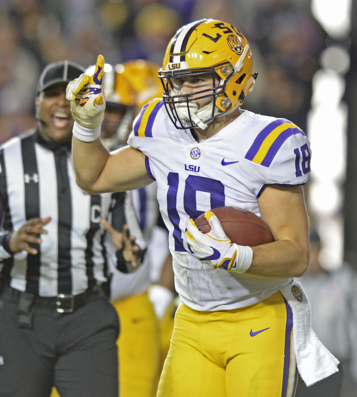 F-back JD Moore becomes LSU's first academic All-American ...
