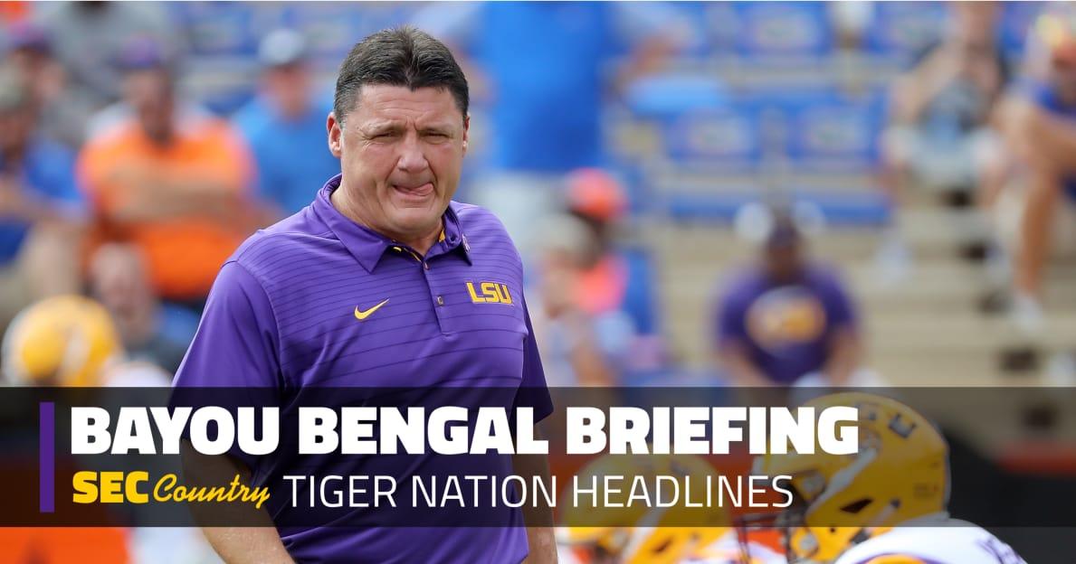 lsu tigers football report